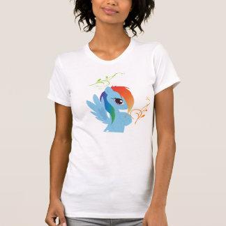 T-shirt amical d'Eco de femmes