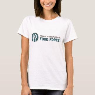 T-shirt Amis de forêt de nourriture de Polly Judd
