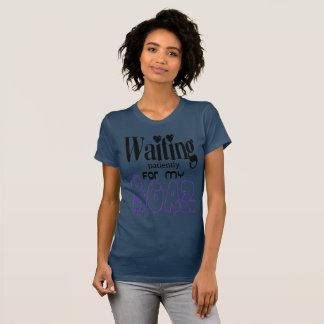 T-shirt Amour de attente