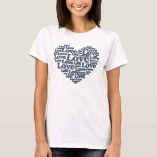 T-shirt Amour de denim