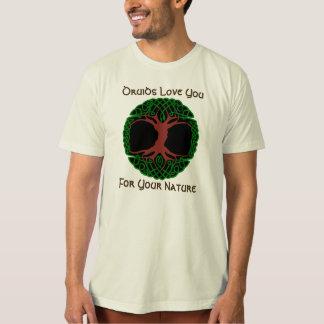 T-shirt Amour de druides vous pour la chemise de vos