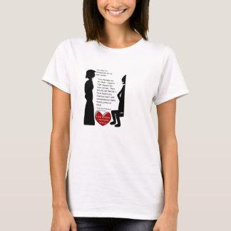T-shirt Amour de Jane Austen