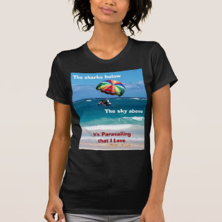 T-shirt Amour de parachute ascensionnel