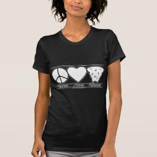 T-shirt Amour et fromage de paix