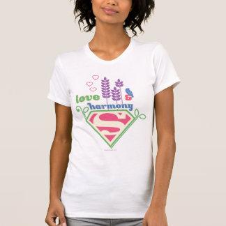T-shirt Amour et harmonie de Supergirl