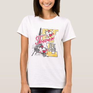 T-SHIRT AMOUR ET PARIS