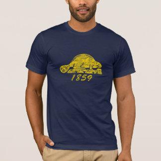 T-shirt Amour grunge de Salem de castor de drapeau d'état