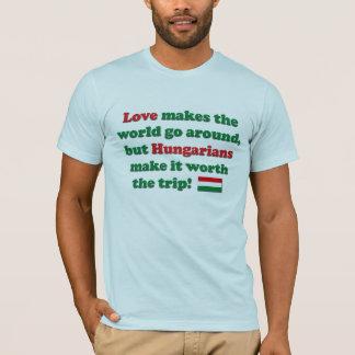 T-shirt Amour hongrois