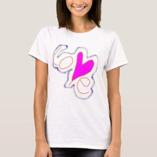 T-shirt Amour par Wendy C. Allen