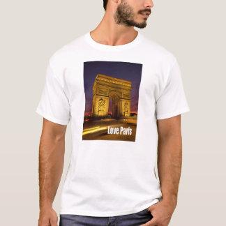 T-shirt Amour Paris France