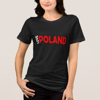 T-SHIRT AMOUR POLOGNE