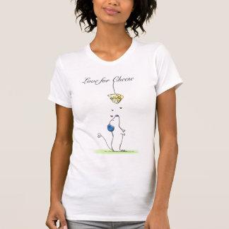 T-shirt Amour pour le fromage