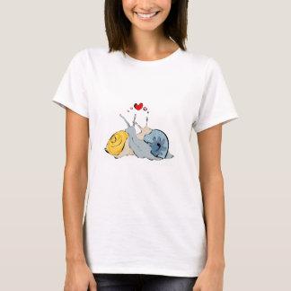 T-shirt Amour T d'escargot