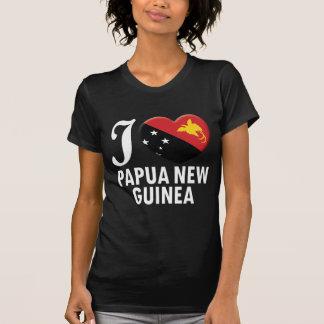 T-shirt Amour W de la Papouasie-Nouvelle-Guinée
