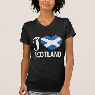 T-shirt Amour W de l'Ecosse