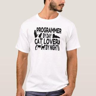 T-shirt Amoureux des chats de programmeur