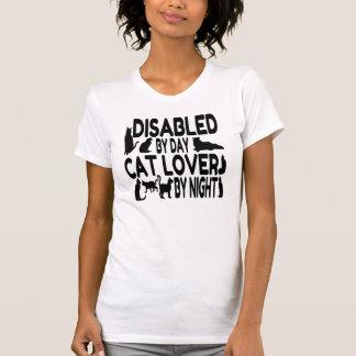 T-shirt Amoureux des chats handicapé