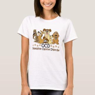 T-shirt Amoureux des chiens canin obsédant de désordre