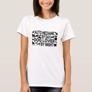 T-shirt Amoureux des chiens de mécanicien automobile