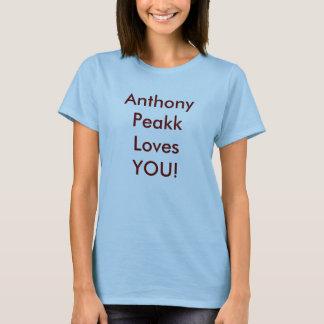 T-shirt Amours d'Anthony Peakk VOUS !