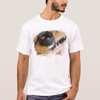 T-shirt Ampère et câble
