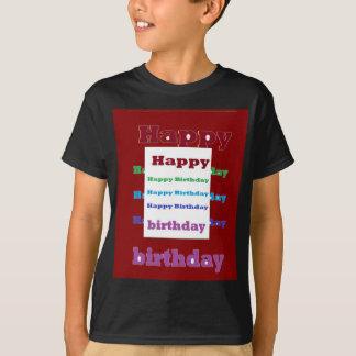 T-shirt Amusement acrylique 99 de base de texture