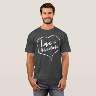 T-shirt Amusement d'amour et d'aventure dehors