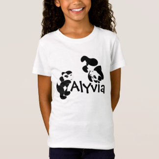 T-Shirt Amusement de panda
