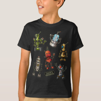 T-shirt Amusement de robot