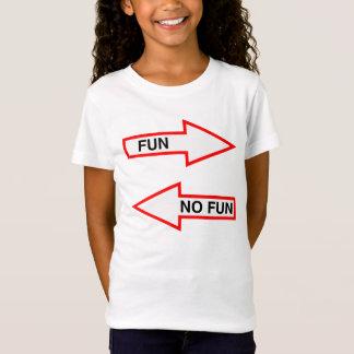 T-Shirt AMUSEMENT OU AUCUN AMUSEMENT, ÉNONCIATION DRÔLE