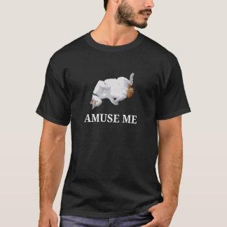 T-shirt Amusez-moi (le blanc)