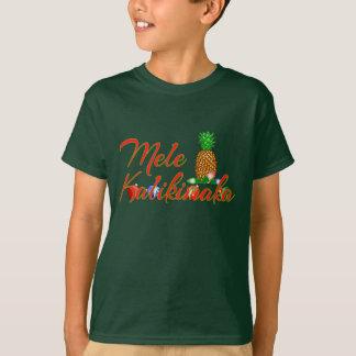 T-shirt Ananas de Hawaïen de Mele Kalikimaka
