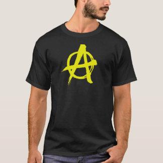 T-shirt Anarchie jaune balayée