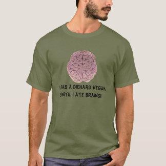 T-shirt ANCIEN VÉGÉTALIEN de ZOMBI (des chemises plus