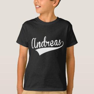 T-shirt Andreas, rétro,