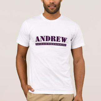 T-shirt Andrew fait sur commande
