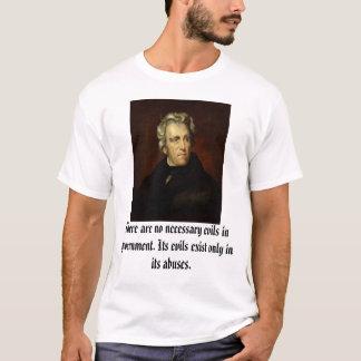 T-shirt Andrew Jackson a attribué à Thomas salissent,