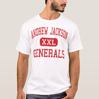T-shirt Andrew Jackson - généraux - milieu - Titusville