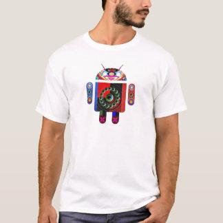 T-shirt Androïde de papa et de bébé - Art101 par Navin