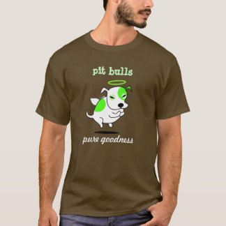 T-shirt Ange de pitbull