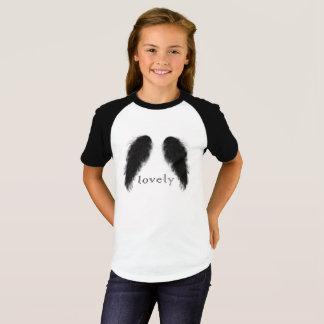 T-shirt ange noir