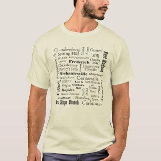 T-shirt Anniversaire de guerre civile 150th