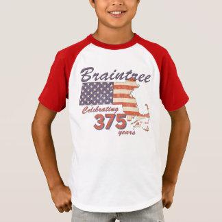 T-shirt Anniversaire de la masse de KRW Braintree le 375th