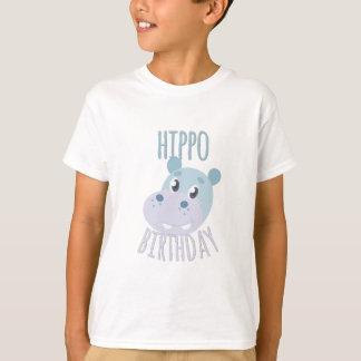 T-shirt Anniversaire d'hippopotame