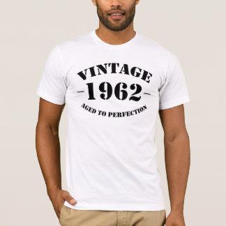 T-shirt Anniversaire du cru 1962 âgé à la perfection
