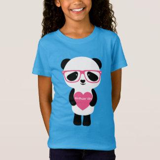 T-Shirt Anniversaire mignon de panda