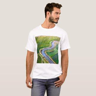 T-shirt Antenne de delta du fleuve Sacramento