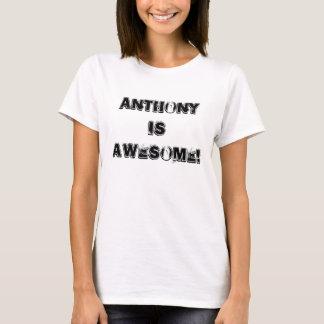 T-shirt Anthony est impressionnant !
