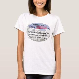 T-shirt Anti aide sociale