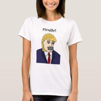 T-shirt Anti bande dessinée politique drôle de Donald